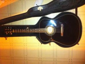 Fender DG11-E Black Acoustic Electric Guitar