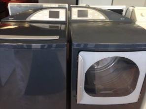 >>>GE PROFILE WASHER & DRYER SET LIKE NEW W/WARRANTY<<